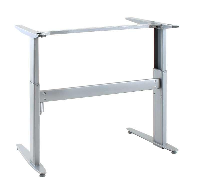 Conset 501 25 Height Adjustable Sit Stand Desk Frame