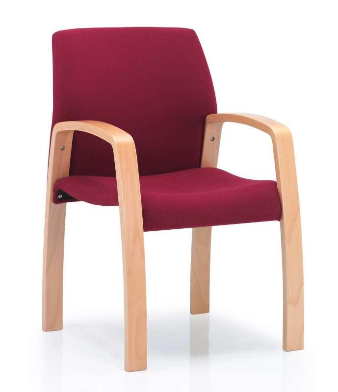 wood framed traditional upholstered meeting room. Black Bedroom Furniture Sets. Home Design Ideas