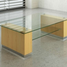Serene Glass Coffee Tables