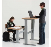 Height Adjustable Standing Desk - Conset 501-27