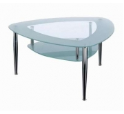 """Lerange"" Glass Coffee Tables"