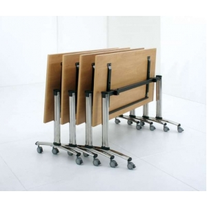 """Tealford"" Tilting Top Mobile Meeting Tables"