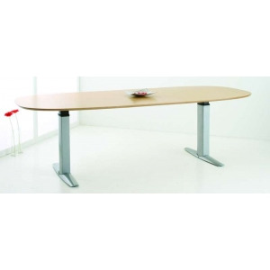 CONSET 501-23 Height Adjustable Meeting Table