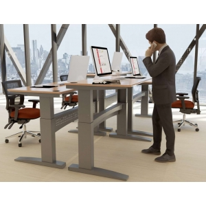 Height Adjustable Sit Stand Desk - Conset 501-11