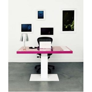 """Milk"" The Iconic Sit Stand Desk"