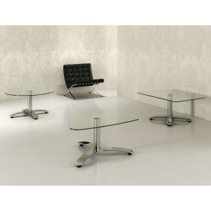 """Norwich"" Glass Coffee Tables"