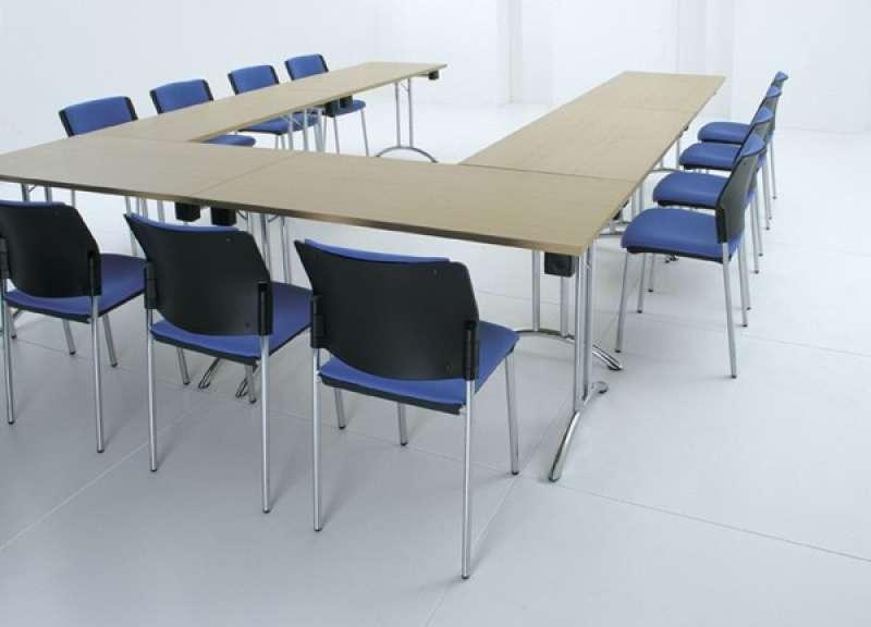 Training Room Folding Leg Tables Rectangular