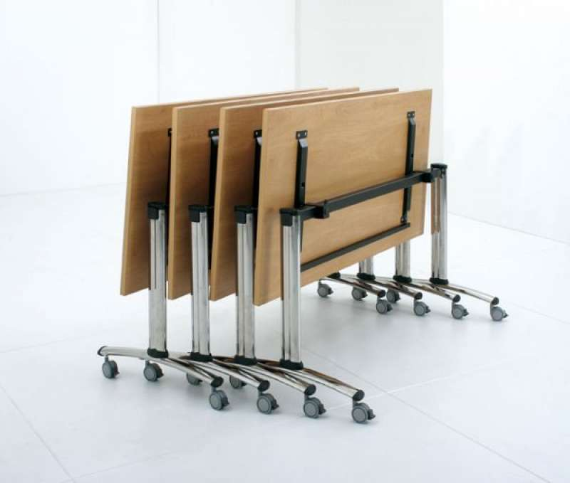 Tilting Top | Mobile Meeting Tables | Training Room Tables | Folding
