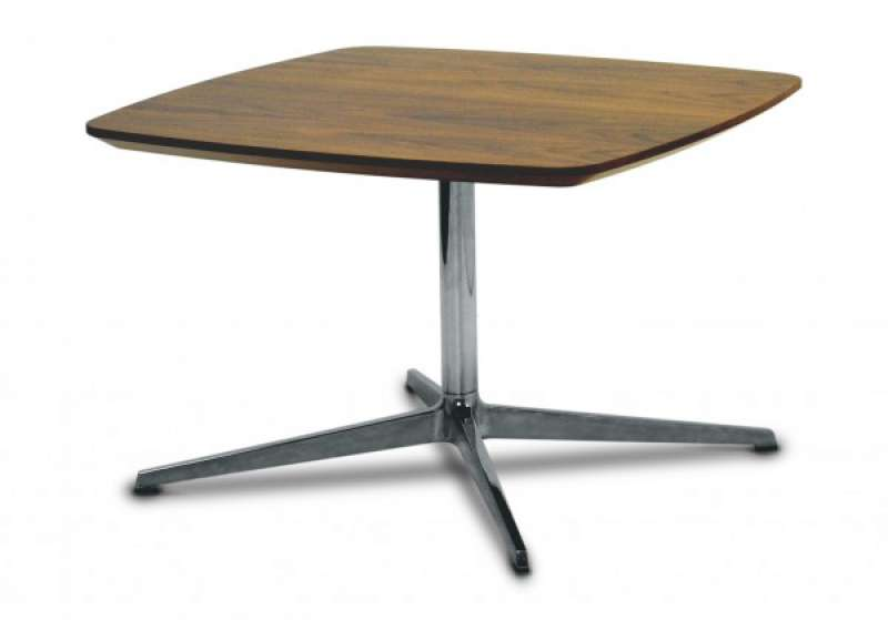 Square Reception Coffee Tables Wood Finishes Quick Delivery Somercourt